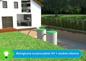Oczyszczalnia ścieków VH6 PREMIUM 2-6 osób + studnia chłonna zdjęcie 5