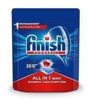 Finish all in 1 max tabletki do zmywarki 20 sztuk regularne