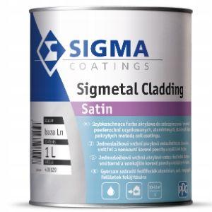 Sigmetal Cladding - farba wodna do stali metalu 1L na Arena.pl