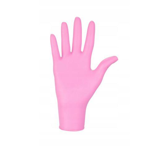 Rękawice nitrylowe nitrylex pink M 100 szt na Arena.pl