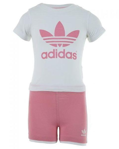 Komplet Adidas I TEE SHORT SET F51401 74 zdjęcie 3