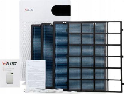 OCZYSZCZACZ WELLTEC APH450D - DO 85m² - WIFI - FILTRY HEPA NA 6 LAT