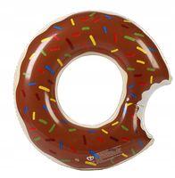 Donut Pączek Dmuchany Koło Materac do Pływania Duży 120 cm