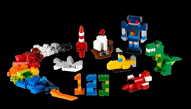 LEGO Classic - Kreatywne budowanie 10693 zdjęcie 2