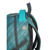 Plecak szkolny młodzieżowy Astra Head HD-72, miętowy w szare paski zdjęcie 3
