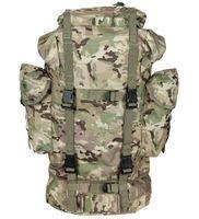 Duży plecak BW turystyczny 65 l operation-camo