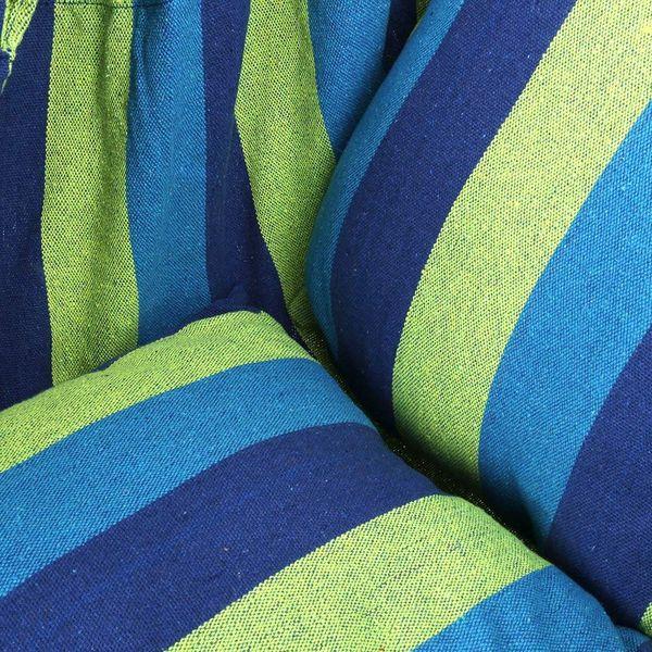 Krzesło brazylijskie wiszące Hamak z poduszkami zdjęcie 8