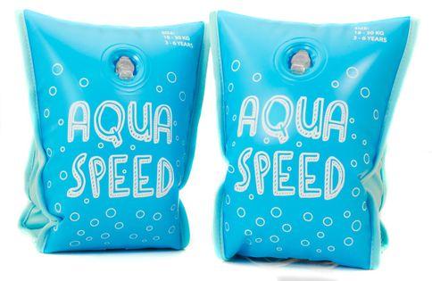 RĘKAWKI AQUA-SPEED PREMIUM Rozmiar - Akcesoria - Od 3 do 6 roku życia (waga od 18 do 30 kg), Kolor - Rękawki - Aqua-Speed Premium - 02 - niebieski