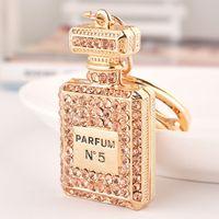 Brelok Do Kluczy - Perfumy - Z Cyrkoniami