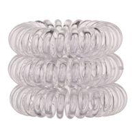 Invisibobble The Traceless Hair Ring Gumka do włosów 3szt Crystal Clear