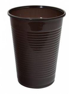 Kubek Plastikowy Office Products, Termiczny, 200Ml, 100 Szt., Brązowy