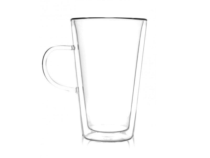 Szklanka dwuścienna latte 320 ml AMO VIALLI DESIGN zdjęcie 1