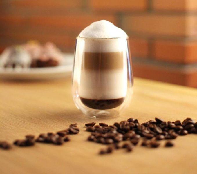 Szklanki Termiczne do Kawy Latte Herbaty 400ml Vialli Design 6 sztuk zdjęcie 2