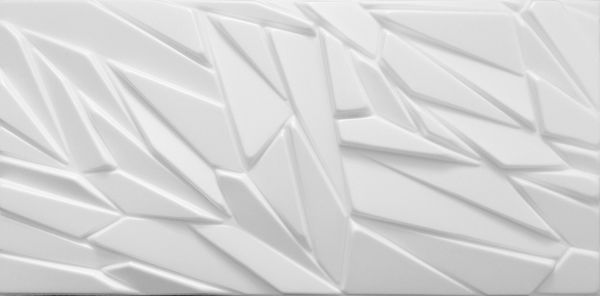 Piankowe Kasetony Sufitowe 3D Rock BIAŁY Panele Ścienne
