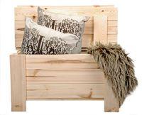 Ławka drewniana ogrodowa skrzynia  kufer schowek