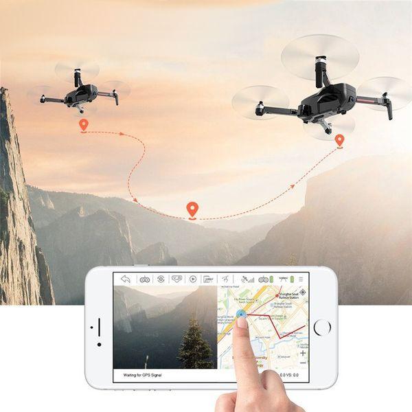 Dron CSJ-X7 Kamera 4K 5G Wifi GPS Śledzenie Funkcja Zawisu Z446 zdjęcie 8