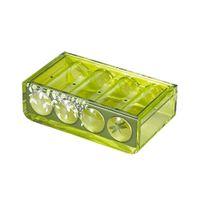 Mydelniczka  3D Magic Emerald akryl zielony