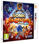 Sonic Boom Fire Ice 3DS Nowa