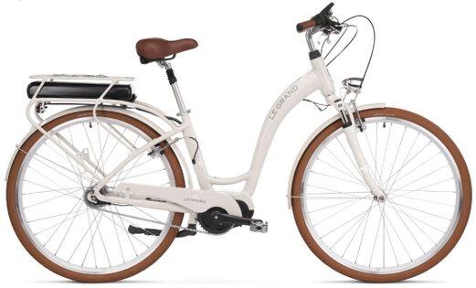 """Le Grand eLille 3 D 28 L(19"""") beż-biał połysk rower elektryczny"""