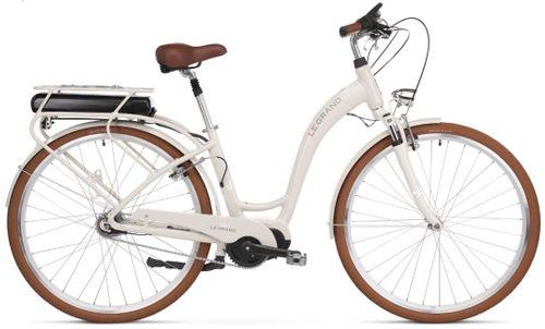 "Le Grand eLille 3 D 28 L(19"") beż-biał połysk rower elektryczny na Arena.pl"