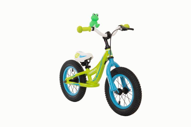 Rower biegowy Iggi – zielony - 12 cali zdjęcie 1