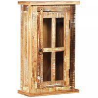 Szafka wisząca z drewna z odzysku, 44 x 21 x 72 cm