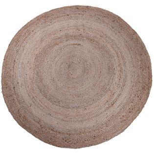 Dywanik DYWAN  pleciony z juty okrągły 150 cm