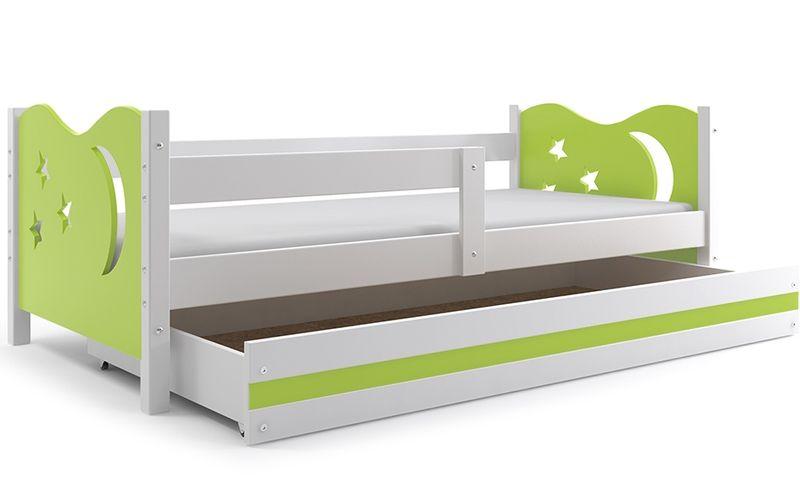 Łóżko łóżka Mikołaj dziecięce 160x80 parterowe + SZUFLADA zdjęcie 21