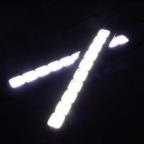 ŚWIATŁA DRL COB LED 20W dzienne, elastyczne na Arena.pl