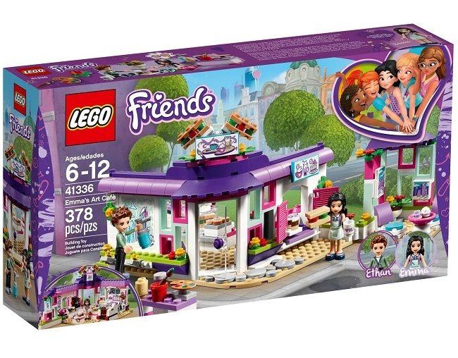 LEGO FRIENDS 41336 Artystyczna Kawiarnia Emmy zdjęcie 1