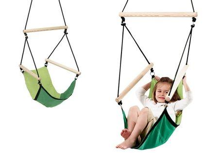 HUŚTAWKA DZIECIĘCA – WISZĄCY FOTEL KID'S SWINGER GREEN #T1