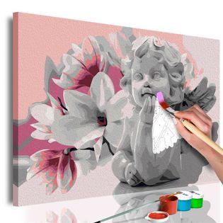Obraz do samodzielnego malowania - Marzenia aniołka