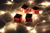 Lampki świąteczne 30 LED na baterie 3m ciepłe białeJoylight zdjęcie 9