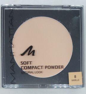 MANHATTAN Soft Compact puder waniliowy nr 8 vanilla