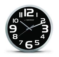 EHC013K Zegar ścienny Zurich czarny