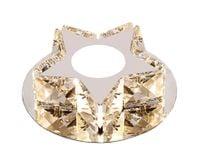 Lampa sufitowa CRYSTAL STAR kryształ PLAFON12cm Kinkiet LED 3W Wobako