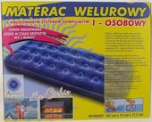 Materac 1 osobowy Welur Antares 183x74 cm