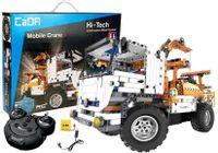 Wywrotka Ciężarówka Dźwig 2W1 Zdalnie Sterowany Z Klocków 2.4G 838 Elementów C51013W