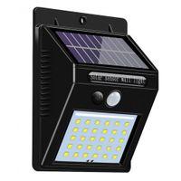 Kinkiet solarny 30 LED z czujnikiem ruchu i zmierzchu