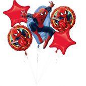 Bukiet balonów foliowych Spiderman 5 szt