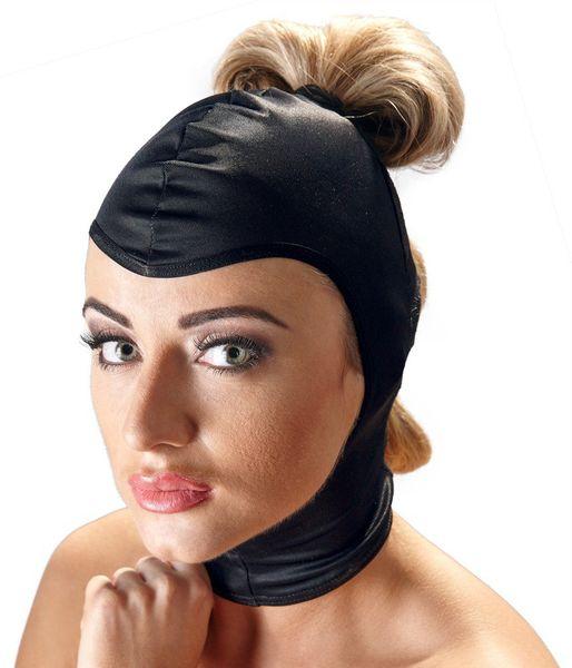 BAD KITTY Maska czarna z koronką zdjęcie 2