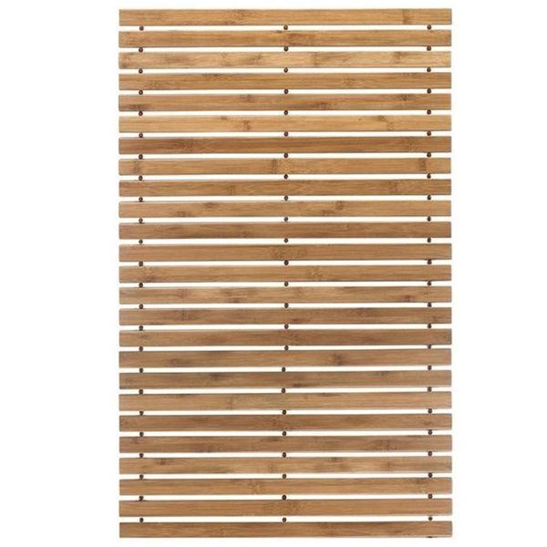 Mata Bambusowa Drewniana łazienkowa 50x80 Cm