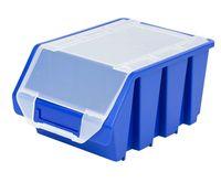 Średni Pojemnik Magazynowy Warsztatowy Ergobox 3 niebieski plus Patrol