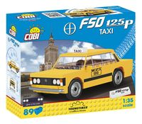 Cobi Klocki Youngtimer Collection FSO 125p Taxi