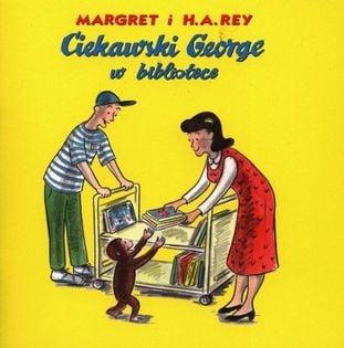 Ciekawski George w bibliotece Rey H.A., Margaret