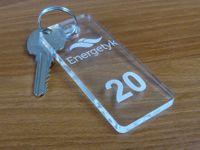 numerki do szatni breloki do kluczy hotelowych 4x9cm grubość 6mm
