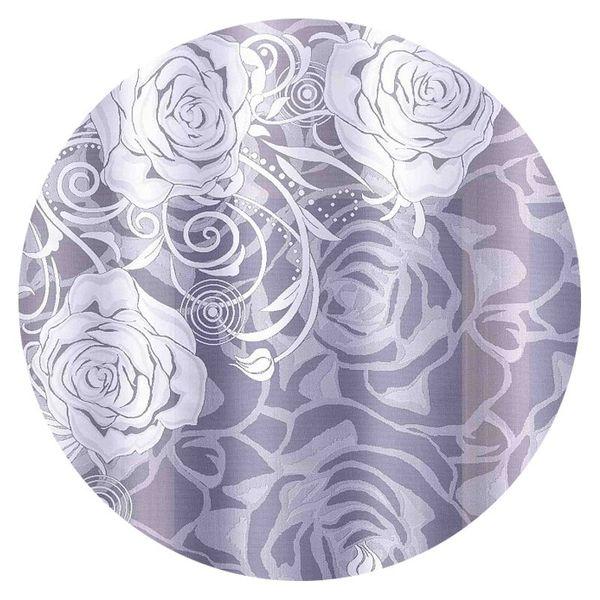 Firanka Róże 240 X 180 180 X 240 Cm Firany Gotowe Wnr271