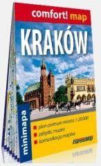 Comfort! map Kraków 1:20 000 minimapa praca zbiorowa