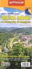 Mapa turystyczna - Dolina Bobru 1:50 000 w.2019 praca zbiorowa