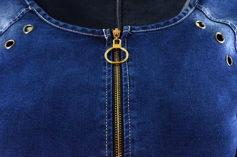 8fd0d359db Sukienka jeansowa DENIM z długim zamkiem Rozmiar - 36 • Arena.pl